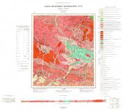 N-52-XI. Карта полезных ископаемых СССР. Серия Становая.