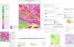 N-52-XIII (Золотая Гора). Государственная геологическая карта Российской Федерации. Издание второе. Станова серия