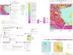 N-52-XIV (Береговой). Государственная геологическая карта Российской Федерации. Издание второе. Становая серия