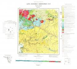 N-52-XXV. Карта полезных ископаемых СССР. Серия Амуро-Зейская