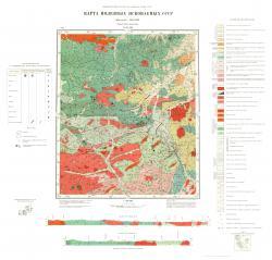 N-53-III. Карта полезных ископаемых СССР. Серия Джугджурская.