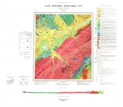N-53-XV. Карта полезных ископаемых СССР. Серия Удская