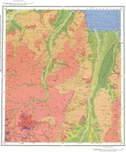 N-53-XVI. Геологическая карта Российской Федерации. Карта четвертичных отложений. Тугурская серия