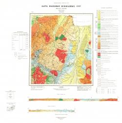 N-53-XVI. Карта полезных ископаемых СССР. Серия Удская