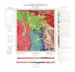 N-53-XXXII. Карта полезных ископаемых СССР. Серия Хингано-Буреинская