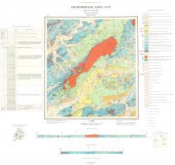N-53-XXXVI. Геологическая карта СССР. Серия Нижне-Амурская.