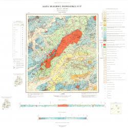 N-53-XXXVI. Карта полезных ископаемых СССР. Серия Нижне-Амурская.