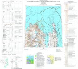 N-54 (Николаевск-на-Амуре). Государственная геологическая карта Российской Федерации. Третье поколение. Дальневосточная серия. Карта полезных ископаемых