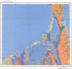 N-54-XXII,XXIII. Геологическая карта Российской Федерации. Карта четвертичных отложений. Сахалинская серия
