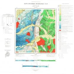 N-54-XXV. Карта полезных ископаемых СССР. Нижнеамурская серия