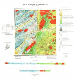 N-54-XXXI. Карта полезных ископаемых СССР. Серия Нижнеамурская