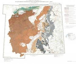O-35 (Псков), (N-35), O-36 (Санкт-Петербург). Государственная геологическая карта Российской Федерации. Третье поколение. Карта закономерностей размещения и прогноза полезных ископаемых. Центрально-Европейская серия