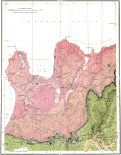 O-35-V. Геологическая карта СССР. Серия Ильменская