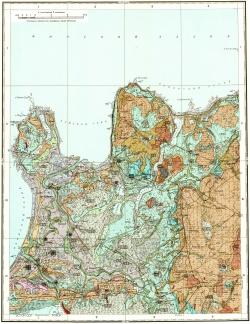 O-35-V. Карта четвертичных образований СССР. Серия Ильменская