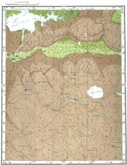O-35-XI. Геологическая карта СССР. Серия Ильменская