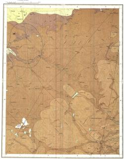 O-35-XII (Луга). Государственная геологическая карта СССР. Серия Ильменская