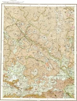 O-35-XII (Луга). Карта четвертичных отложений СССР. Серия Ильменская