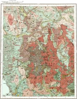 O-35-XVII. Карта четвертичных отложений СССР. Ильменская серия