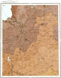 O-35-XXIII. Геологическая карта СССР. Ильменская серия