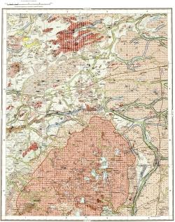 O-35-XXIV. Геологическая карта СССР. Карта четвертичных отложений. Ильменская серия