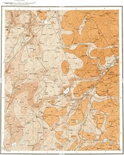 O-35-XXIX. Геологическая карта СССР. Ильменская серия