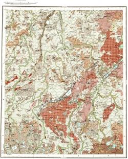 O-35-XXIX. Геологическая карта СССР. Карта четвертичных отложений. Ильменская серия