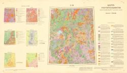 O-36. Карта растительности европейской части СССР