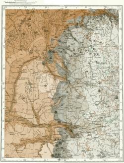 O-36-X. Государственная геологическая карта СССР. Карта полезных ископаемых. Серия Тихвинско-Онежская