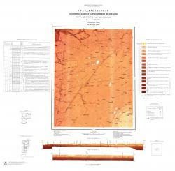O-36-XIX (Волот). Государственная геологическая карта Российской Федерации. Карта дочетвертичных образований. Ильменская серия