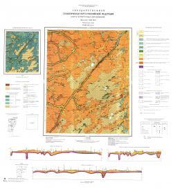 O-36-XIX (Волот). Государственная геологическая карта Российской Федерации. Карта четвертичных образований. Ильменская серия