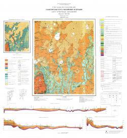 O-36-XXV (Локня). Государственная геологическая карта Российской Федерации. Карта четвертичных образований. Ильменская серия