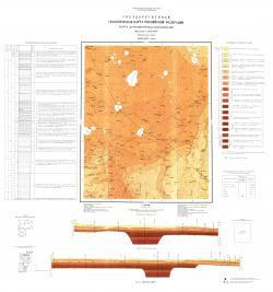 O-36-XXV (Локня). Государственная геологическая карта Российской Федерации. Карта Дочетвертичных образований. Ильменская серия