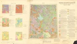 O-37. Карта растительности европейской части СССР