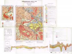 O-37-XXII. Геологическая карта СССР. Карта четвертичных отложений. Серия Московская