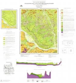 O-38-XXXIII (Бор). Государственная геологическая карта Российской Федерации. Карта четвертичных образований. Средневолжская серия