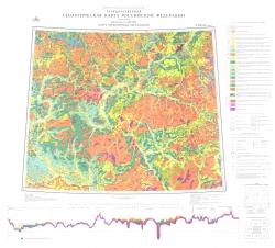 O-(38),39 (Киров). Государственная геологическая карта Российской Федерации (новая серия). Карта четвертичных отложений