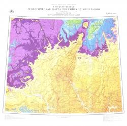 O-(38),39 (Киров). Государственная геологическая карта Российской Федерации (новая серия). Карта дочетвертичных образований