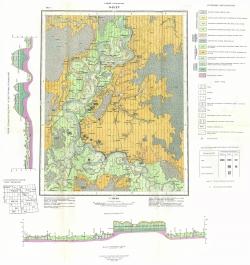 O-42-XV. Геологическая карта СССР. Серия Тобольская. Карта четвертичных отложений
