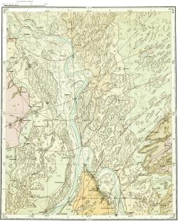 O-45-XXV. Геологическая карта СССР. Кетская серия