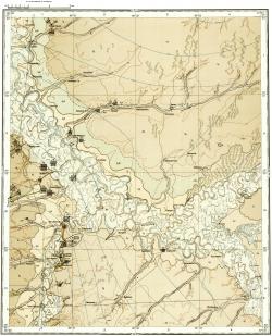 O-45-XXVII. Геологическая карта СССР. Кетская серия