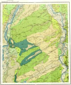 O-45-XXXI. Карта четвертичных отложений СССР. Кузбасская серия