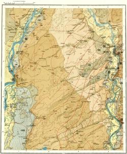 O-45-XXXI. Карта полезных ископаемых СССР. Кузбасская серия