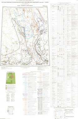 O-46 (Красноярск). Государственная геологическая карта Российской Федерации. Третье поколение. Карта полезных ископаемых. Ангаро-Енисейская серия