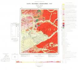 O-49-XXXV. Карта полезных ископаемых СССР. Серия Бодайбинская