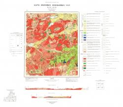O-50-XXXIV. Карта полезных ископаемых СССР. Серия Бодайбинская