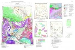 O-52 (Томмот) Государственная геологическая карта Российской Федерации. Третье поколение. Алдано-Забайкальская серия. Карта закономерностей размещения и прогноза полезных ископаемыз