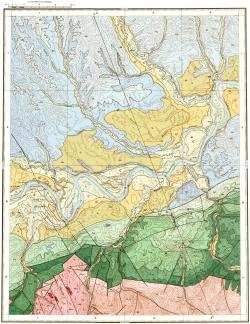 O-52-XII. Геологическая карта СССР. Серия Алданская