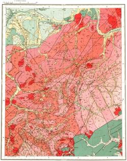 O-52-XVII. Геологическая карта СССР. Алданская серия
