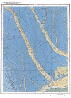 O-53-I. Геологическая карта СССР. Амгинская серия