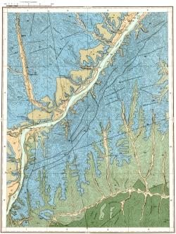 O-53-II. Геологическая карта СССР. Амгинская серия